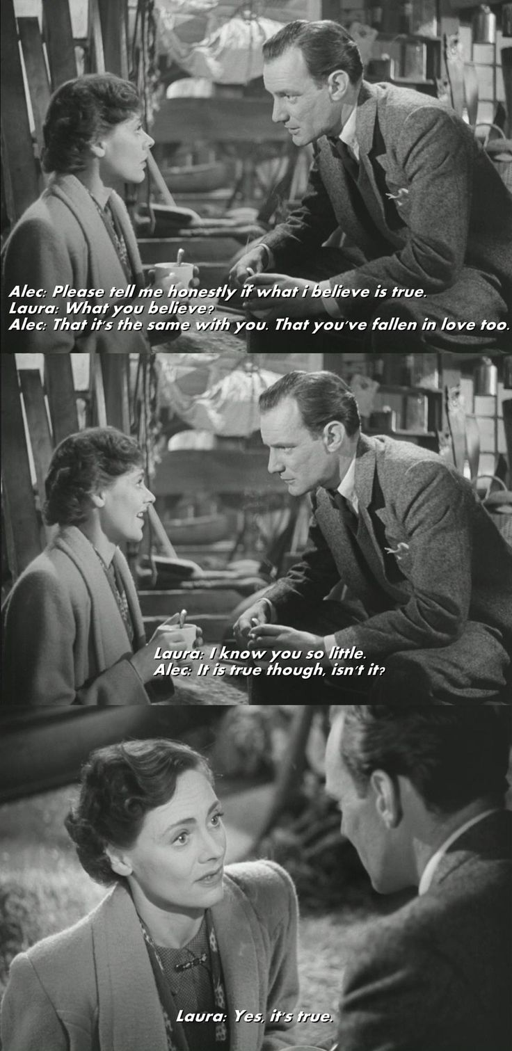 Brief Encounter : Celia Johnson & Trevor Howard (1945)