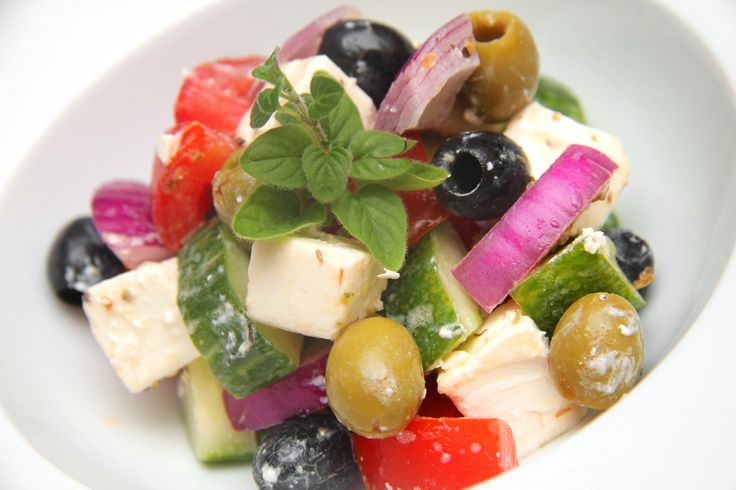 Görög saláta (Horiatiki)