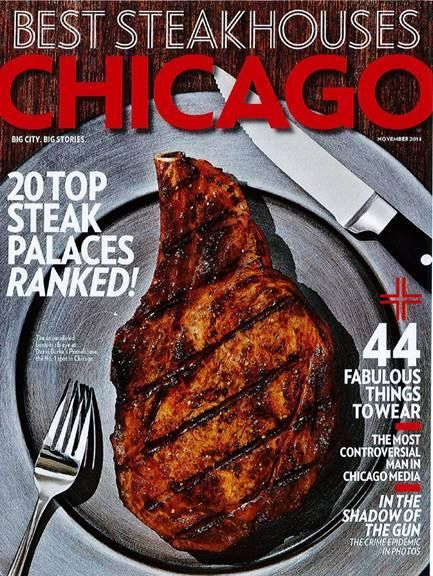 Congrats to David Burke's Primehouse for being named 'Best Steakhouse in Chicago' by Chicago Magazine.