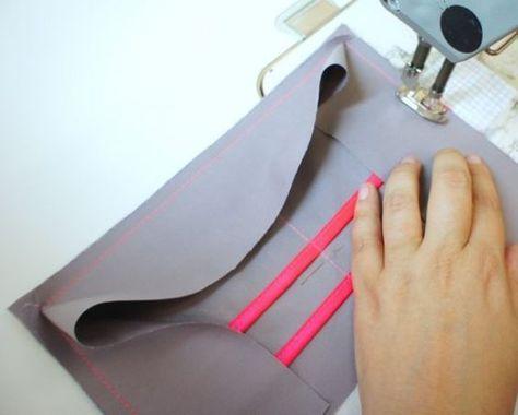 Tuto pochette organiseur de sac couture trousse - Tuto organisateur de sac ...