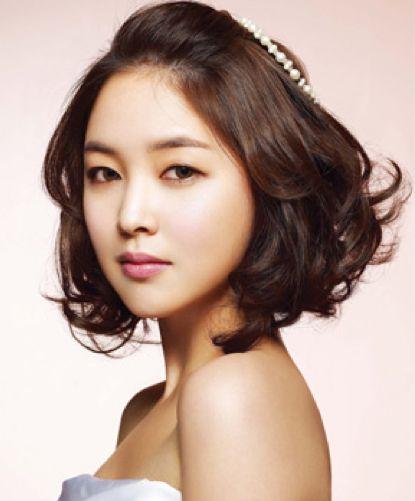 Wedding Hairstyle Korean: 55 Best Images About Korean Wedding Hair / Makeup On Pinterest