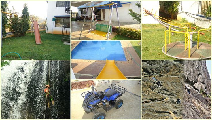 Enjoy these things at karjatvilla farmhouse.
