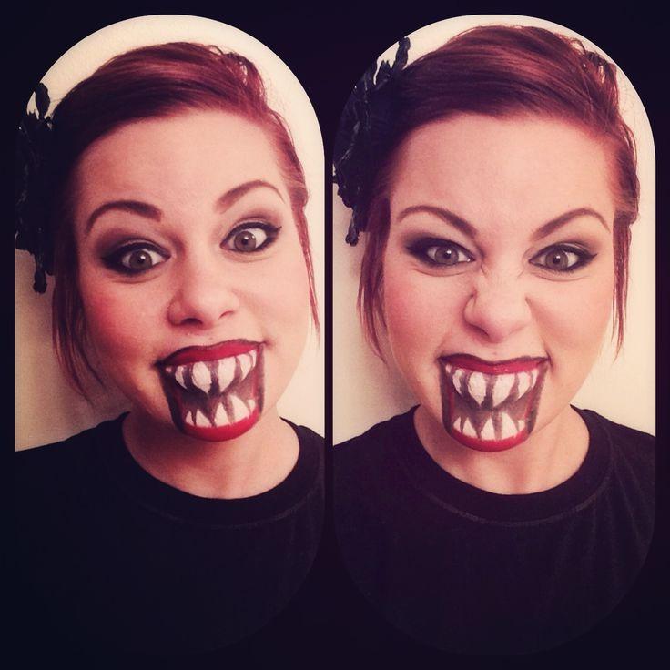 Halloween makeup #sephoraselfie #halloween