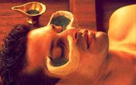 Ayurvedic treatment for the eyes by application of medicated oils is known as Netratarpanam. In this procedure, the patient is made to lie on his/her back on dhroni and medicated ghee is then poured gently into the patients eyes and later in the process the eyes will be open and closed for couple of times under the doctors supervision.