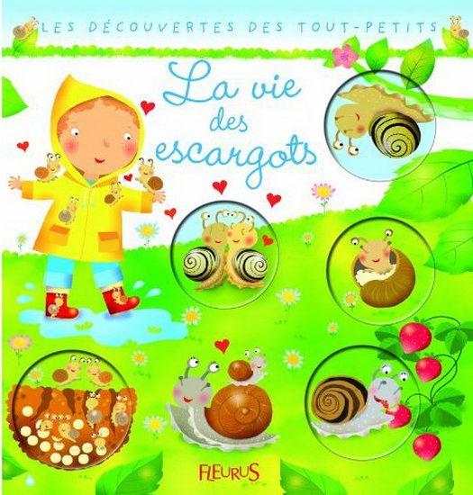 31997000918433 La vie des escargots. A travers des explications simples mais précises, des images pleines de tendresse et les questions d'un petit garçon, l'enfant, dès 4 ans, va pouvoir découvrir la vie incroyable des escargots.
