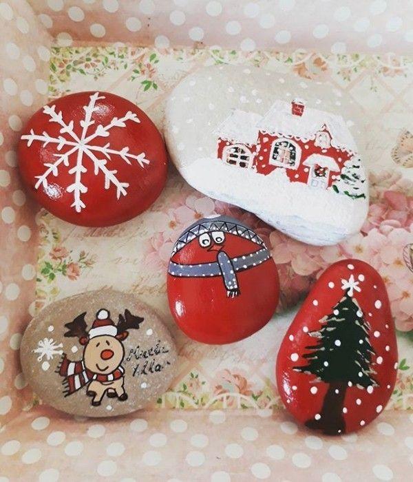 weihnachtsdeko selber basteln weihnachtlich dekorieren