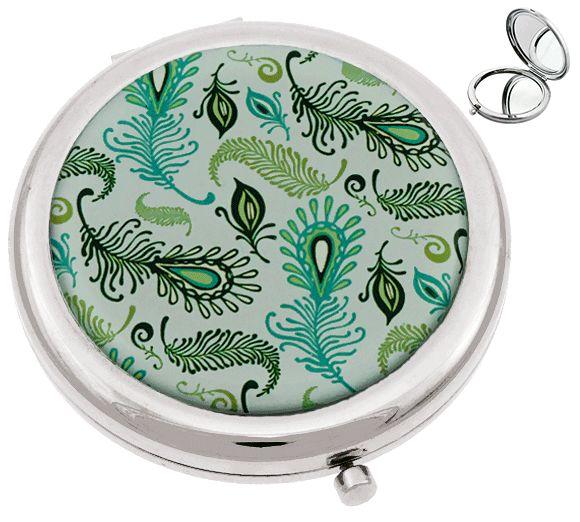 Miroir de sac fantaisie jeu de plumes miroirs for Miroir fantaisie design