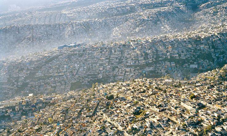 Mexico City landscape, 20 million inhabitants