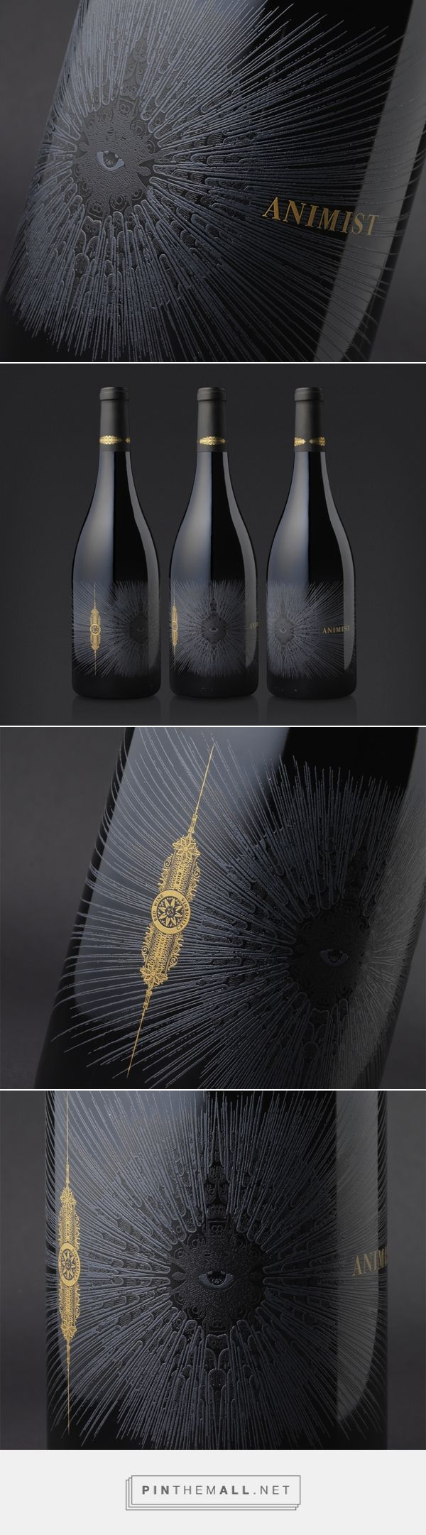 Animist Wine packaging by Cult Partners
