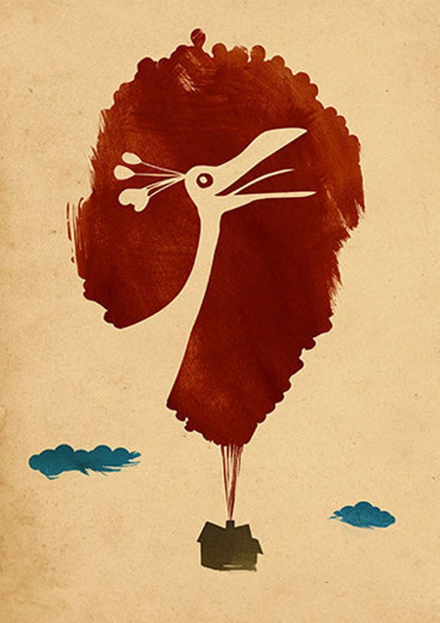Up | 28 Minimalist Posters For Your Disney-Themed Nursery