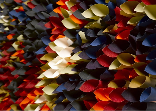 Colourful Life: A collaboration between artist Ian Wright and Keaykolour paper VIDEO http://www.youtube.com/watch?v=dmFwI_9NfKo #paper_art