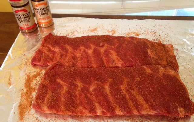 how to cut up spare ribs