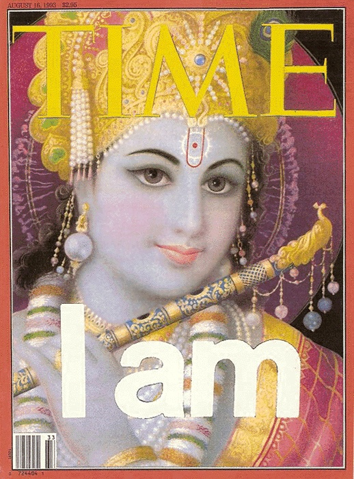 Time I am (Bhagavad gita As It Is, verse 11.32)    Krishna's form the atheist can bow down to.