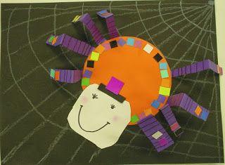 ABC School Art: Silly Spiders - (Kindergarten)