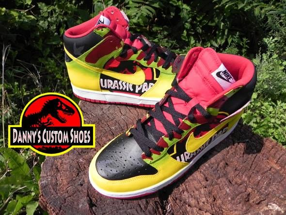 Jurassic Park Shoes: You'll run faster then the dinosaurs, or at least your  friend running with you.