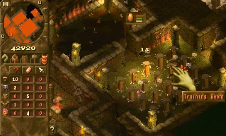 Dungeon Keeper - build a dungeon full of monsters and defeat pesky heroes.                                                                                                                                                     Plus