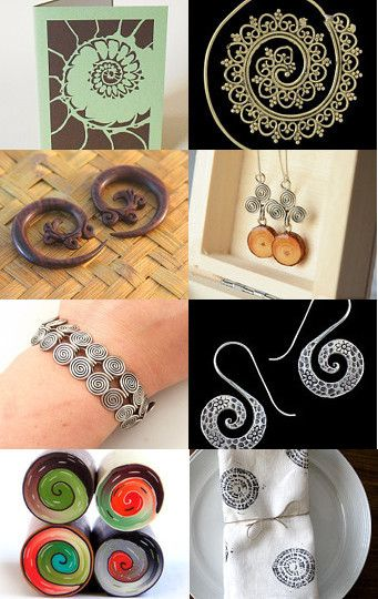 Spiralis by Lastenia Solis on Etsy--Pinned with TreasuryPin.com