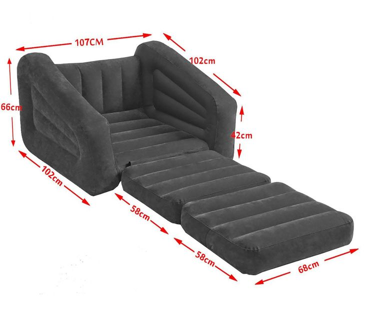 Leather Sleeper Sofa Inflatable pull out sofa the size can be customized