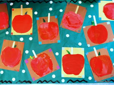 PAINTED PAPER: Candied Apples at the County Fair