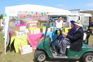 imaginabox meet the 'queen' at the Cherry Fayre, Flackwell Heath