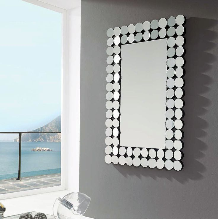 Espejo rectangular enmarcado (294 – DE2) - Muebles CASANOVA