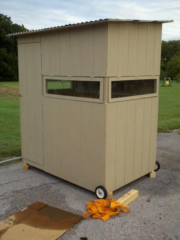 Best 25 deer blinds ideas on pinterest hunting stands for Diy deer stand plans