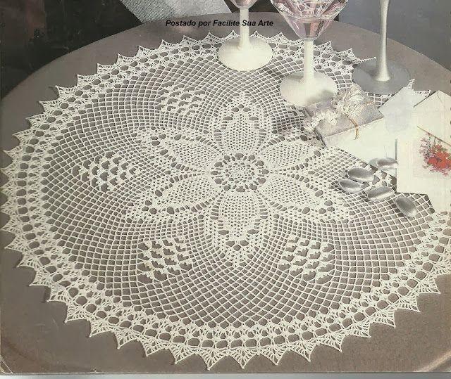581 besten Crochet Doilies & Mandalas Bilder auf Pinterest | Häkeln ...