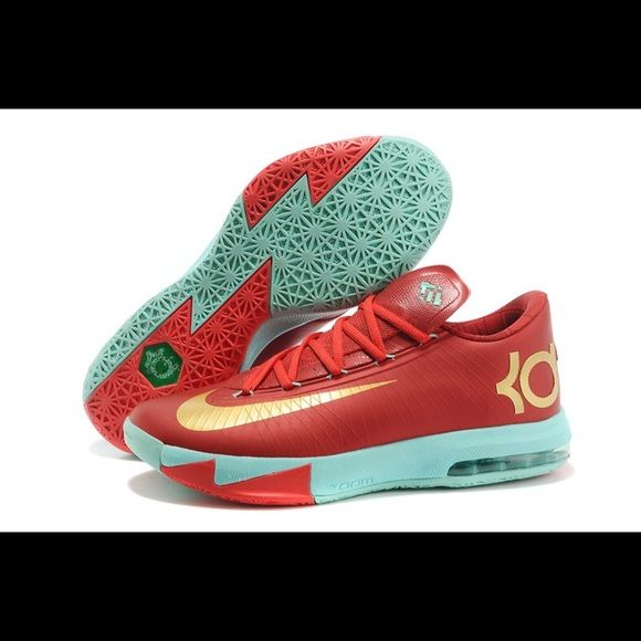Nike KD 6 Christmas addition Fashion / basketball shoe that can be worn on  the court