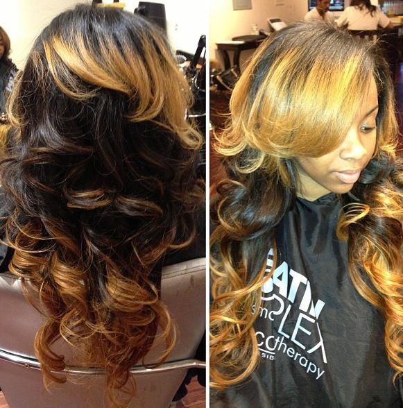 Hair Style Sew In : Sew In Hair Weave Styles Weaving Hairstyle Info Free Download Picture ...