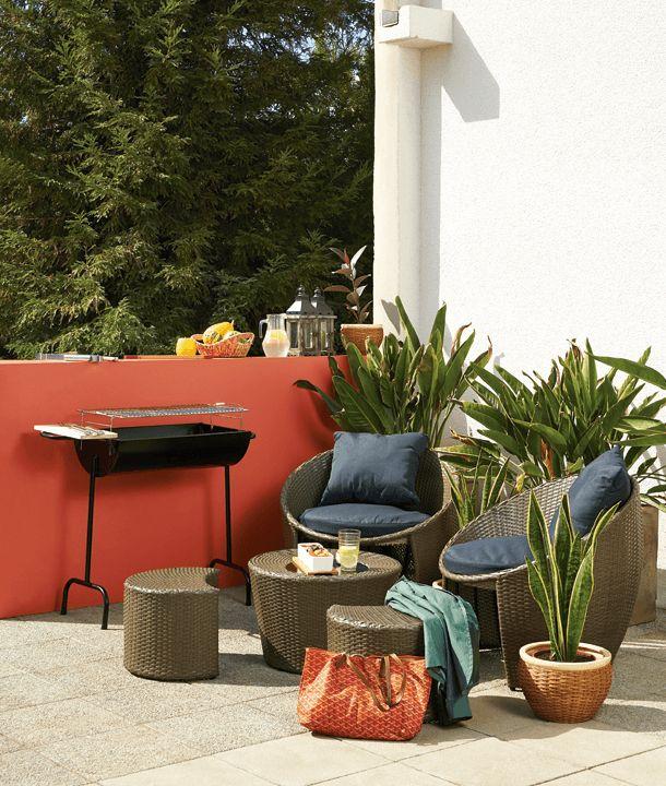 ¡Ideal para espacios pequeños! Este set de terraza modular se adapta a cualquier tamaño.   #Primavera #Deco #Terraza #EasyTienda #TiendaEasy #Living #primaveraverano #cambiavivemejor