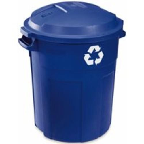 Roughneck 1792641 Recycle Trash Cans 32 Gallon