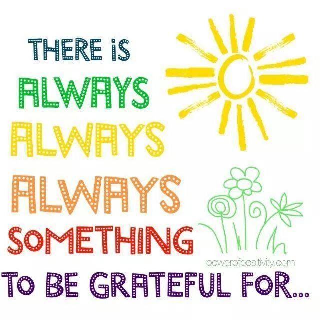 Yes there is! #grateful