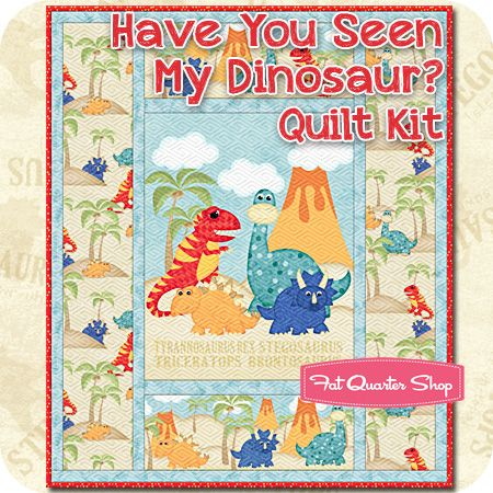 Have You Seen My Dinosaur Quilt Pattern Have Is 2