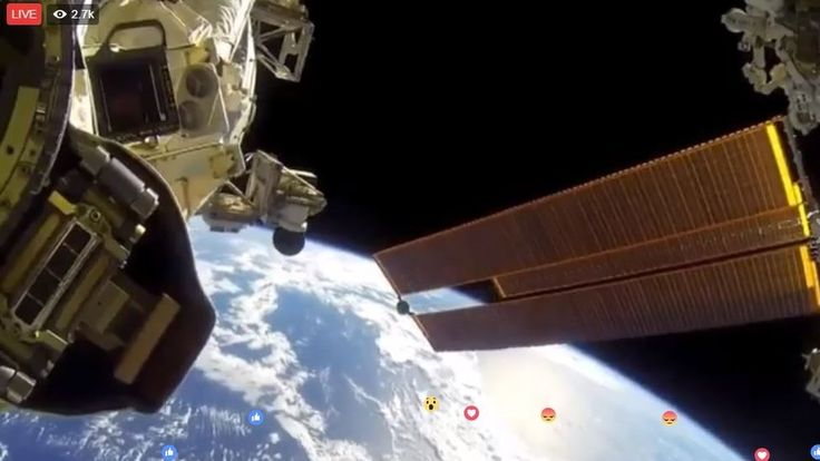 "Misleading ""live"" video from the International Space Station stuns the internet. / NASA suggests that anyone who wants to see video from space should have a look at their official Facebook or Twitter page, or that of the ISS. You may also be interested to know that there is a real live video feed from the International Space Station that you can view here."