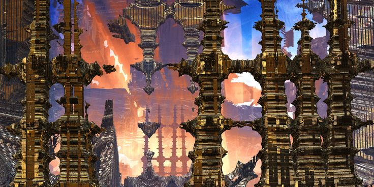 Perditions Portal 3D Fractal