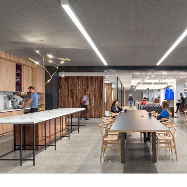 #FitoutFriday Concrete floors and raw materials make this fitout for @Uber a standout. Designed by @o_plus_a pic credit @milieu