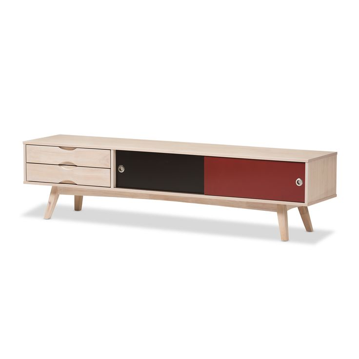 Wholesale Interiors Gia TV Stand 17.76'' H x 70.88'' W x 15.75'' D