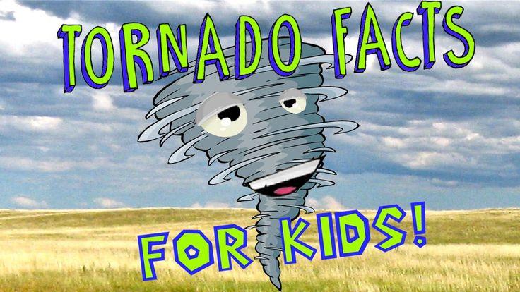 Week 22.....Tornado Facts for Kids!