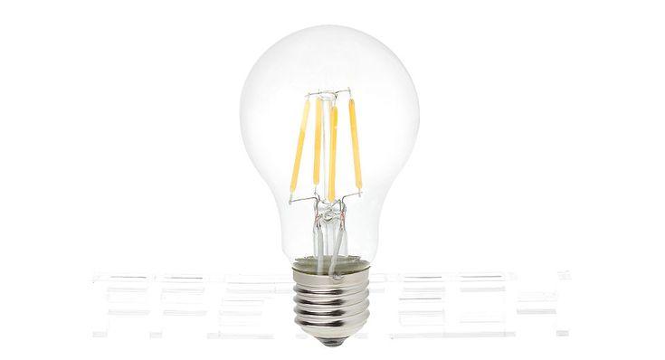 E27 4W 4*LED 320LM 3000-3500K Warm White LED Filament Light Bulb LED Light Bulbs 4971704 - https://xtremepurchase.com/TechStore/2016/09/01/home-garden-led-light-bulbs-4971704/
