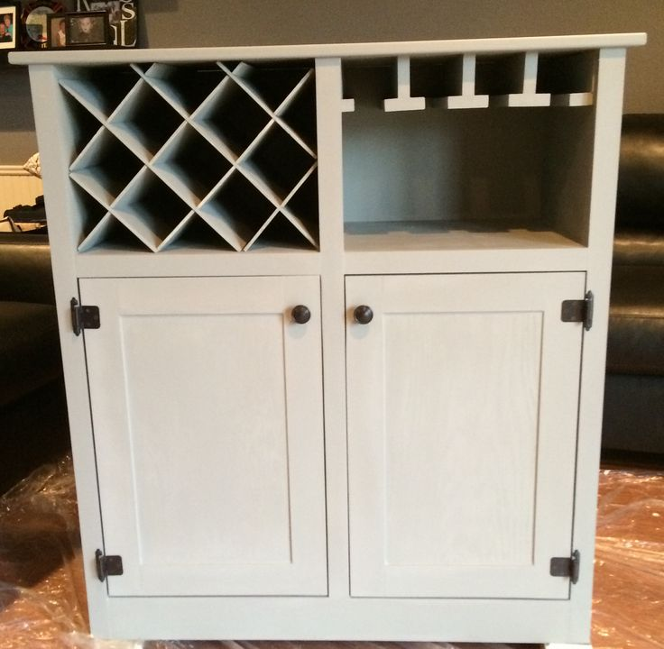 DIY Wine Cabinet Furniture Pinterest