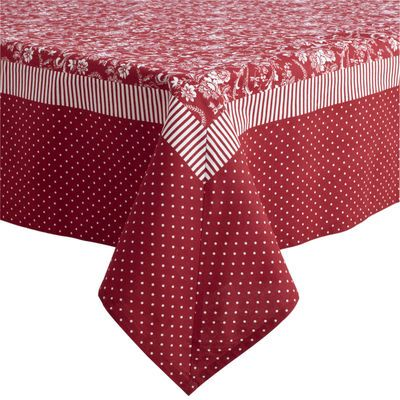 Red & White Tablecloths