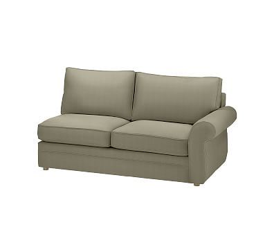 Pearce Upholstered Left Arm Love Seat Sectional Sofas
