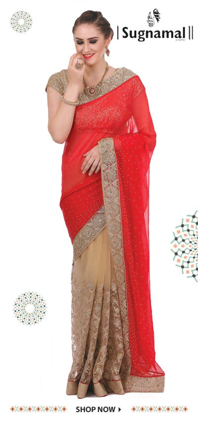 Fashion is about something that comes from you. #Fashion_at_sugnamal #saree #fashion #party #marriage #wedding #lehenga #kids_wear #indian #shop_online #bride #desi #new_arrival #festive_season #chritmas #shop_from_india #traditional #half_saree #ethnic #couture #shaadi_designer #salwaar_kameez #quality #desi_fashion #dress #gown #long_dress #indan_collection #bridal_collection #baara #sugnamal  visit @http://sugnamal.com/category/?cat=Shop+Women&&subcat=Sarees For any query: 8418888893