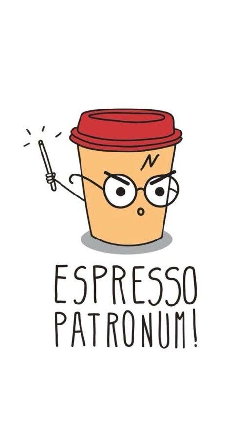 Espresso Patronum Coffee Umorismo Su Harry Potter Cose Da