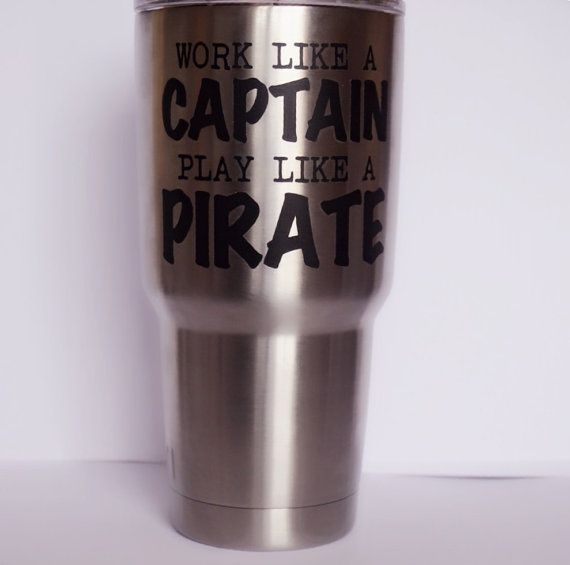 Work Like A Captain Play Like A Pirate Vinyl By