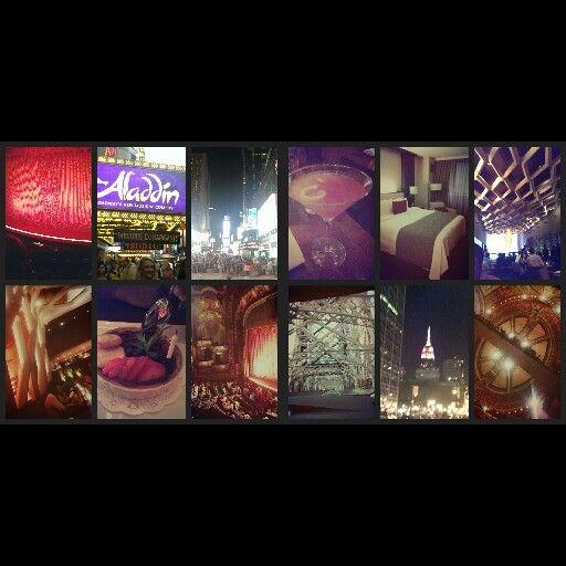 NYC Courtyard Marriott, Koi Restaurant & Alladin  Broadway Musical