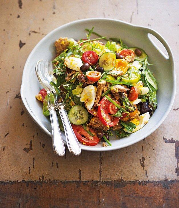 Australian Gourmet Traveller recipe for Damien Pignolet's salade Niçoise.
