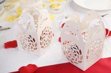 boite à gateaux, laser, pour mariage decoration de mariage pas cher