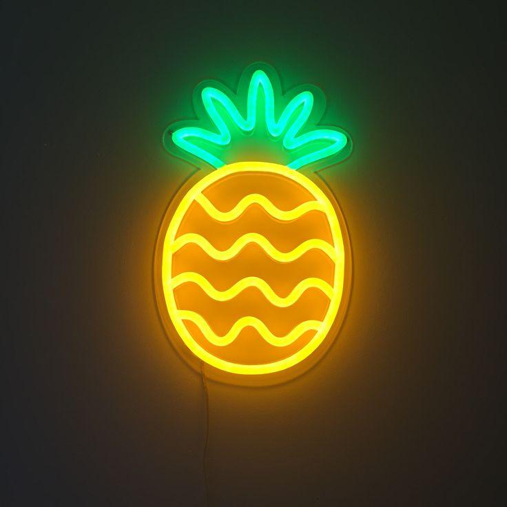 Pineapple  80s NeonNeon LightingNeon. Best 25  Neon lights for rooms ideas on Pinterest   Neon signs