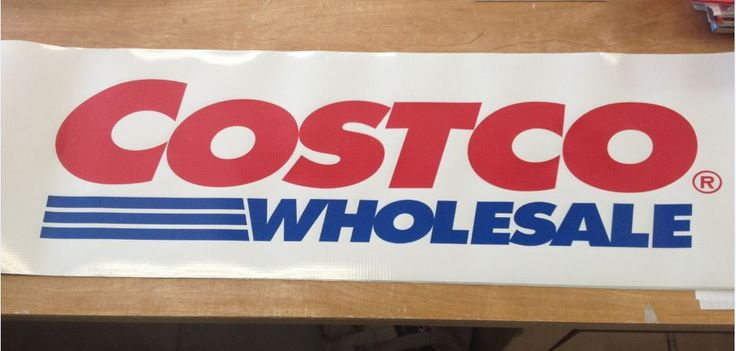 "10"" x 36"" digital print banners for a dozen Costco locations! Each location has 3 of them sewn onto their 10x10 canopy tents!  ‪#‎banners‬ www.SpeedproDurham.ca"